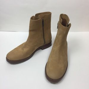 New Frye Natalie Leather Ankle Boots size 10